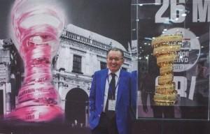 Il Presidente del Gruppo Mapei, Giorgio Squinzi.