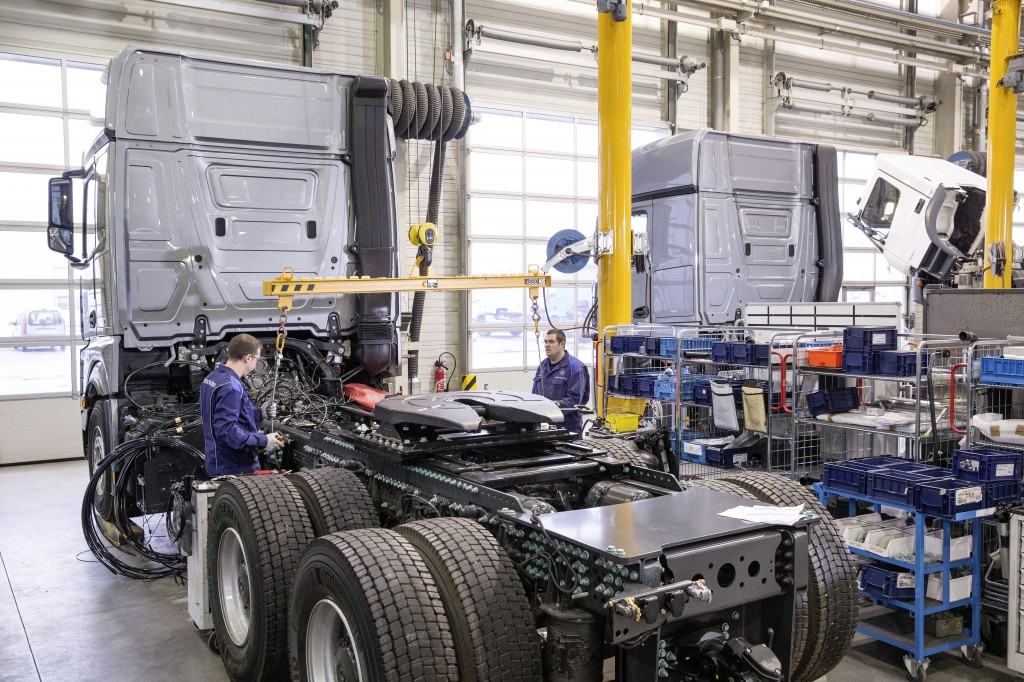 Mercedes-Benz Custom Tailored Trucks Molsheim plant