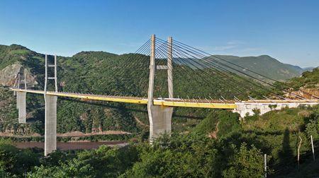 Mexcala Bridge. È una delle opere più imponenti realizzate negli ultimi anni. Nell'ultimo decennio il Messico ha investito 144 miliardi di euro per lo sviluppo delle infrastrutture.