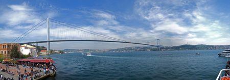 L'Izmit Bay Bridge si aggiungerà agli altri due maxiponti sul Bosforo già esistenti.