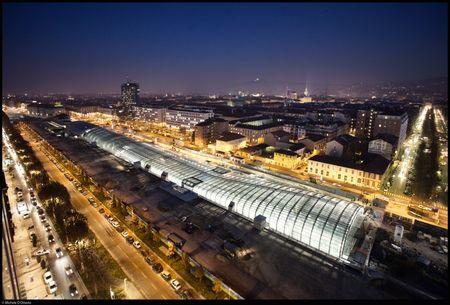 Nuova stazione di Porta Susa, Torino (foto di Michele d'Ottavio).