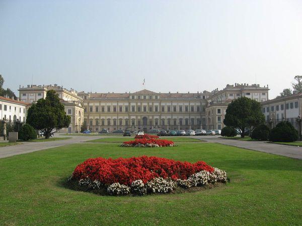 Villa Reale di Monza | Vista frontale.