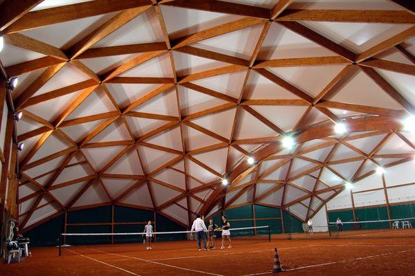 Doppia volta vela mq. 1444 - n°2 campi tennis Torino