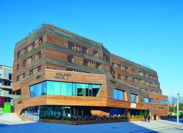 La struttura Wälderhaus nella città di Amburgo. (foto Stephan Falk)