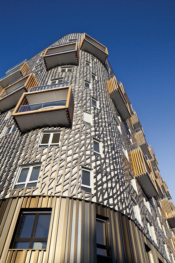 Il progetto Quintessence, situato nella zona di sviluppo urbano, «Zac» Clichy-Batignolles. (foto Sergio Grazia)
