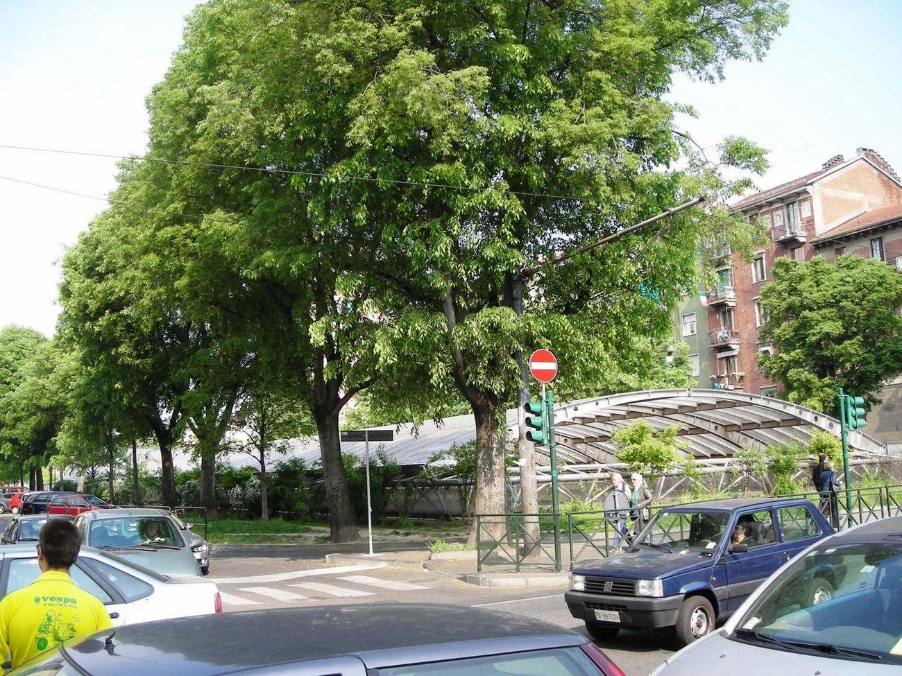 Torino Particolare di Corso Spezia con il tratto interrato