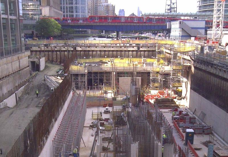 Crossrail | Fasi di realizzazione