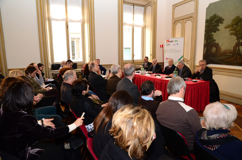 Conferenza stampa Saie Smart House