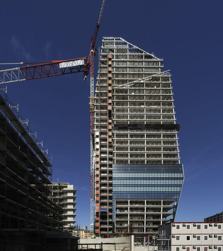 La Torre Diamante a Milano