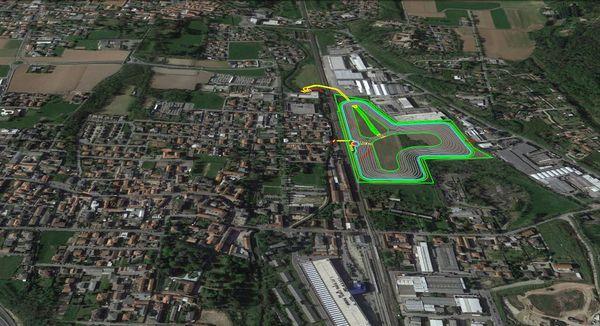 Il progetto della vasca di laminazione di Lentate sul Seveso (Milano) nel contesto dell'urbanizzazione del nord Milano.