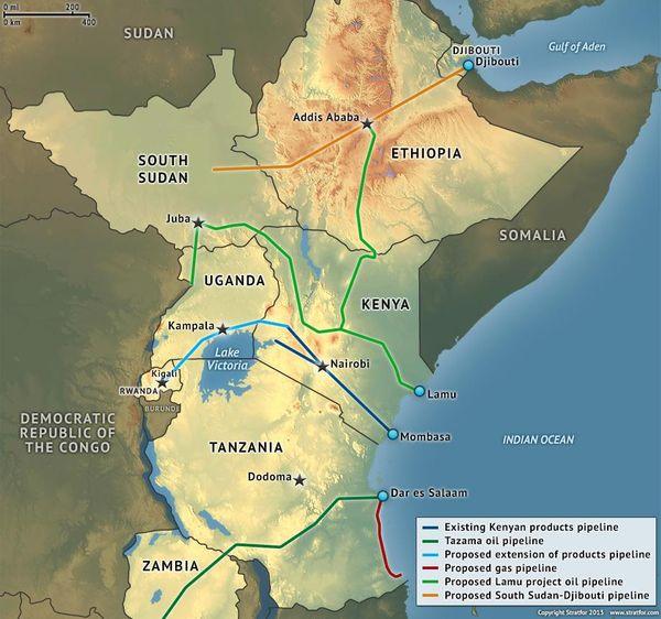 I porti dell'Africa Orientale