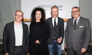 Stefano Casciani, Odile Decq, Carlo Pesenti, Crippa