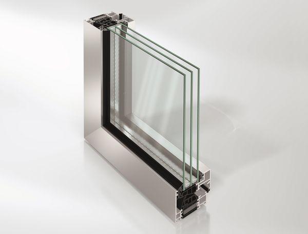 sistema modulare per finestre e porte finestra con anta a scomparsa il nuovo cantiere. Black Bedroom Furniture Sets. Home Design Ideas