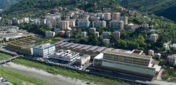 Laterlite Genova 2 area ex Italcementi progetto