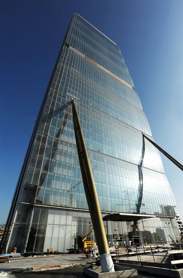 distribuzione dell energia elettrica nel grattacielo pi