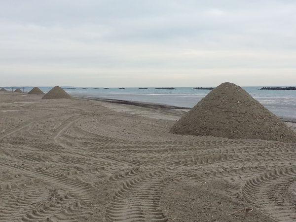 La tutela del territorio marino contro l 39 erosione delle for Setacciavano la sabbia dei fiumi