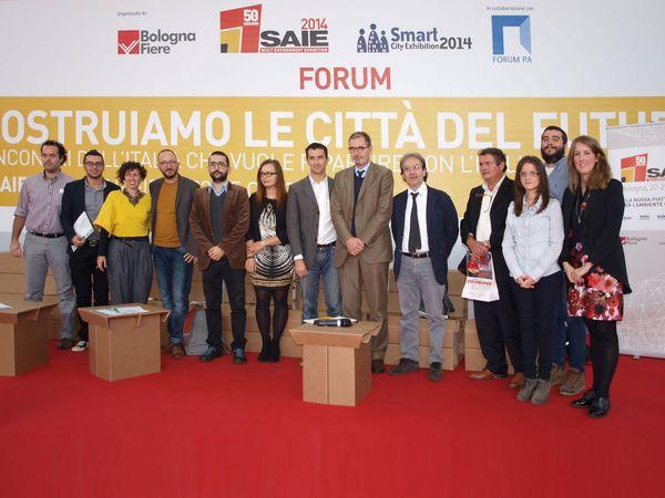 Premio Riuso, premiazione Saie 2014