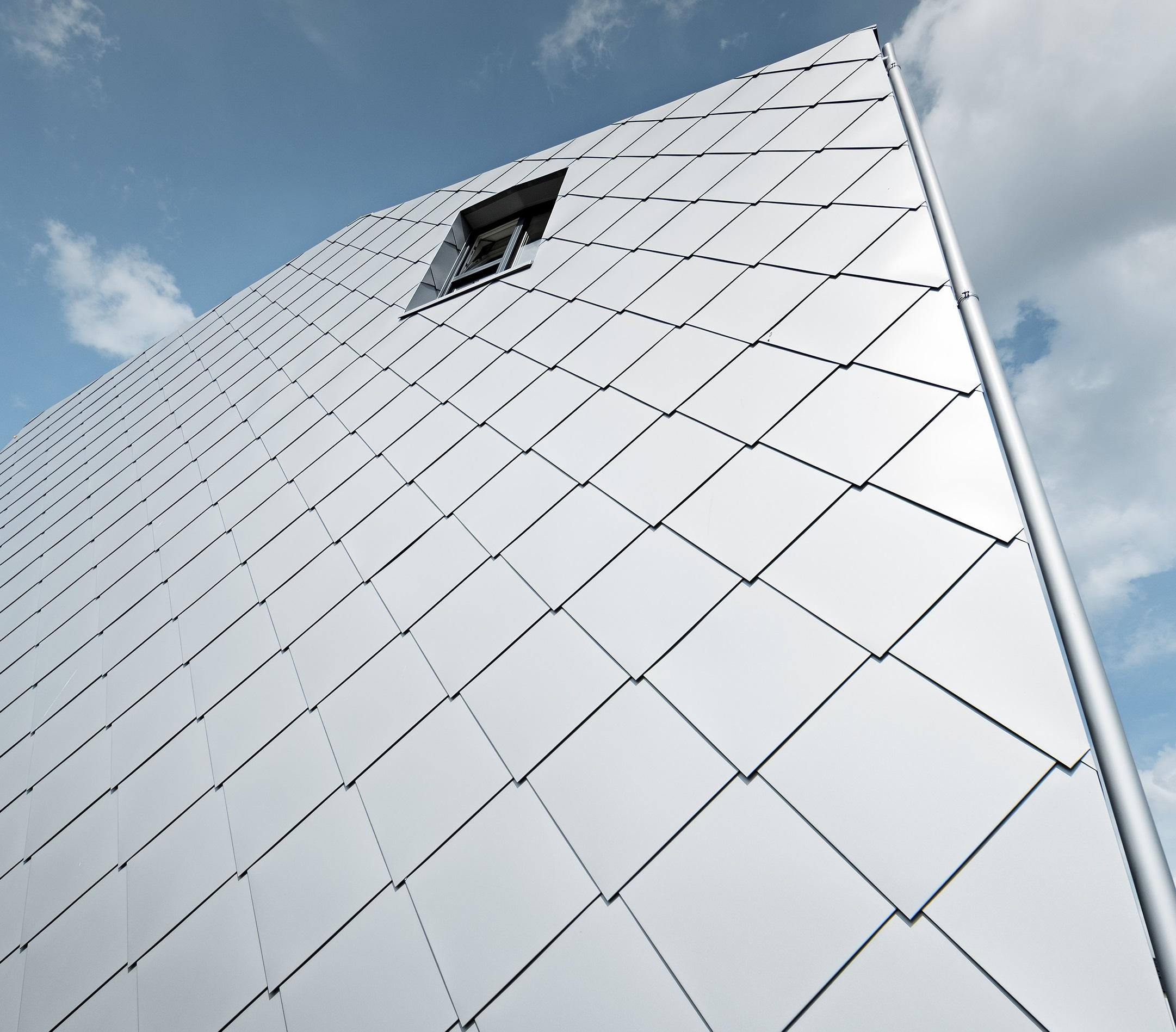 I rivestimenti Prefa in alluminio sono garantiti 40 anni