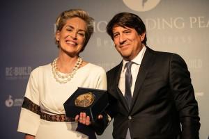 Sharon Stone e Dario Roustayan, Ceo Pilosio