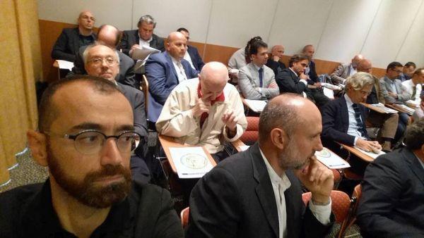 Un momento della sessione plenaria dei lavori a Torino.