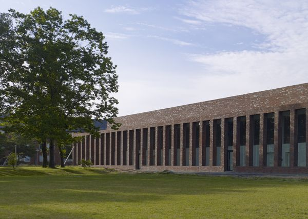 Vista del Centro Sportivo dal Campus.