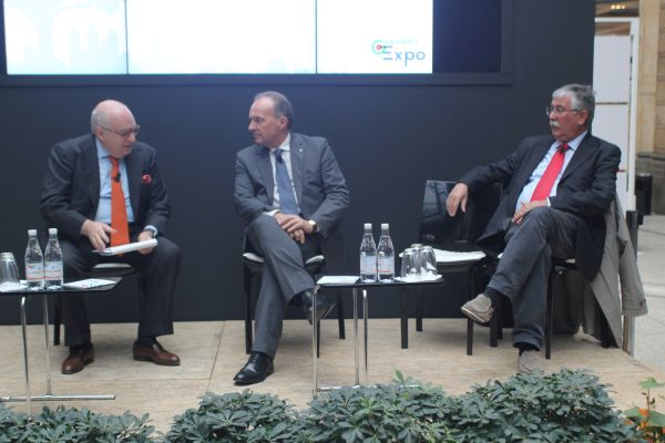 Enrico Cisnetto, Maurizio Savoncelli e Gian Antonio Stella
