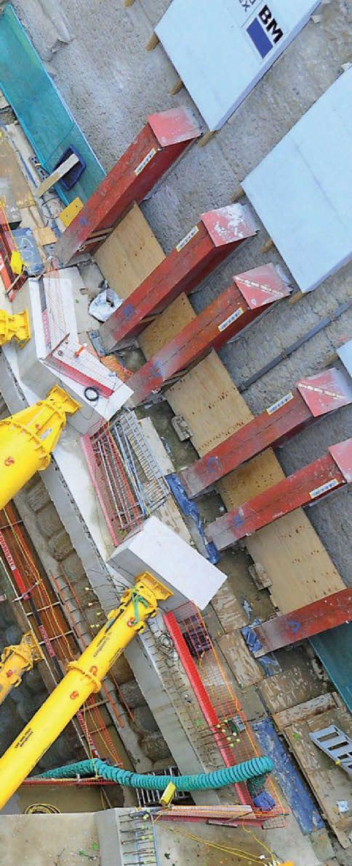 Puntelli idraulici Groundforce | Un sistema alternativo per il sostegno dei fronti di scavo.