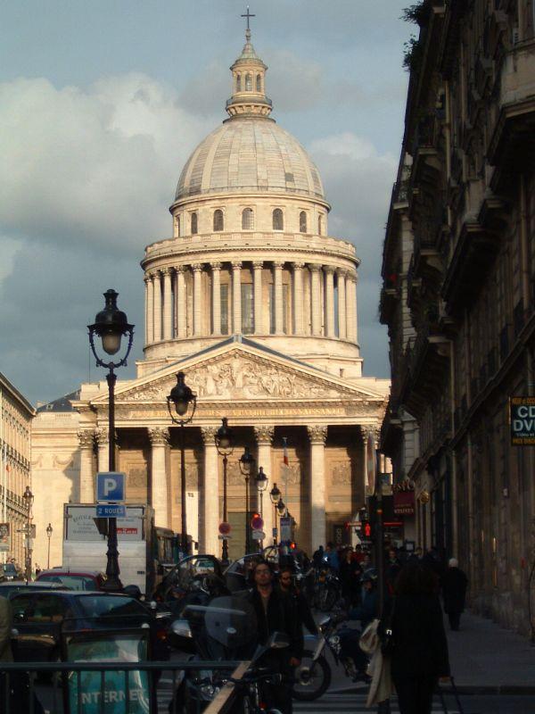 Il Pantheon di Parigi.