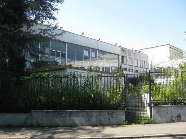 Spazi retrostanti gli edifici del complesso di Torino Esposizioni, attualmente inutilizzati.