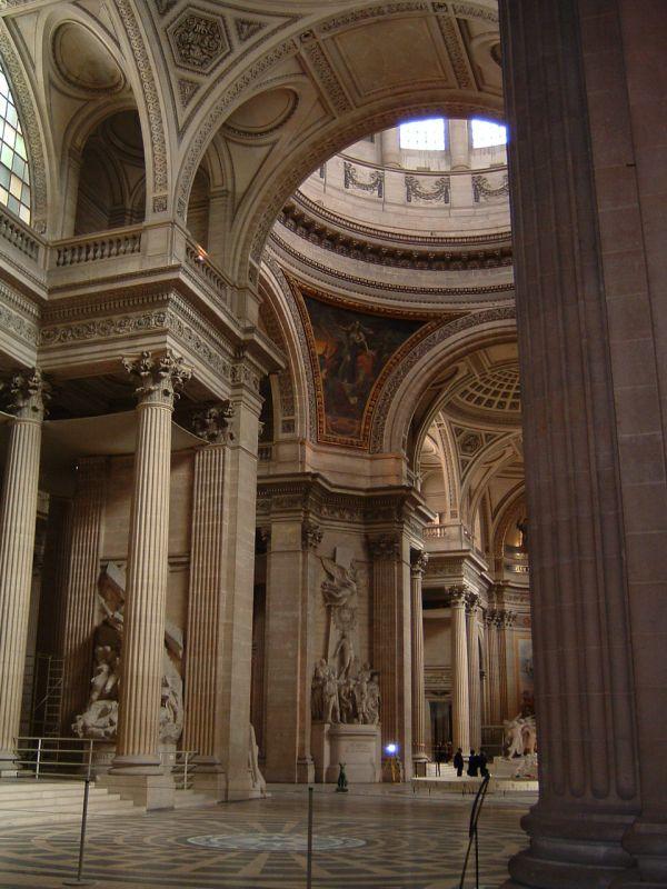 L'interno del Pantheon.