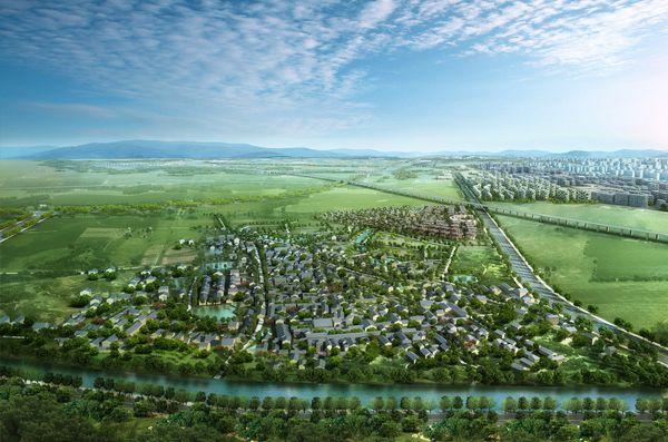 progetto di Zhenjiang Park.