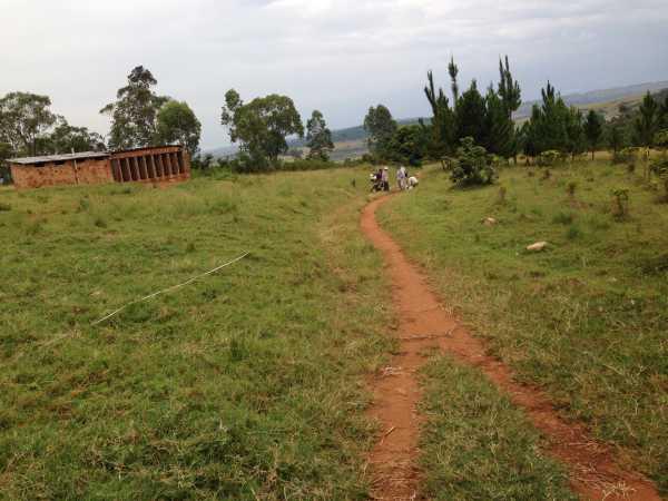 Ubicazione Sev n°5 in prossimità delle piantagioni della Missione.