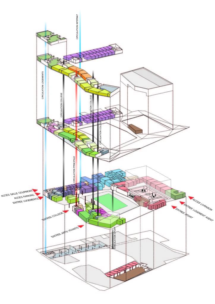 La nuova scuola di lille ad alta efficienza energetica for Piani di fattoria ad alta efficienza energetica