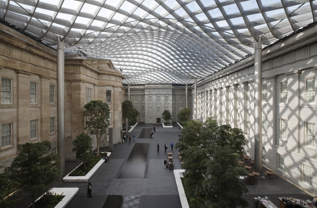 Permasteelisa Robert and Arlene Kogod Courtyard