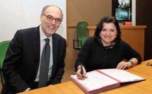 Gian Piero Celata (Enea) e Cristina D'Angelo (Protezione Civile Roma Capitale