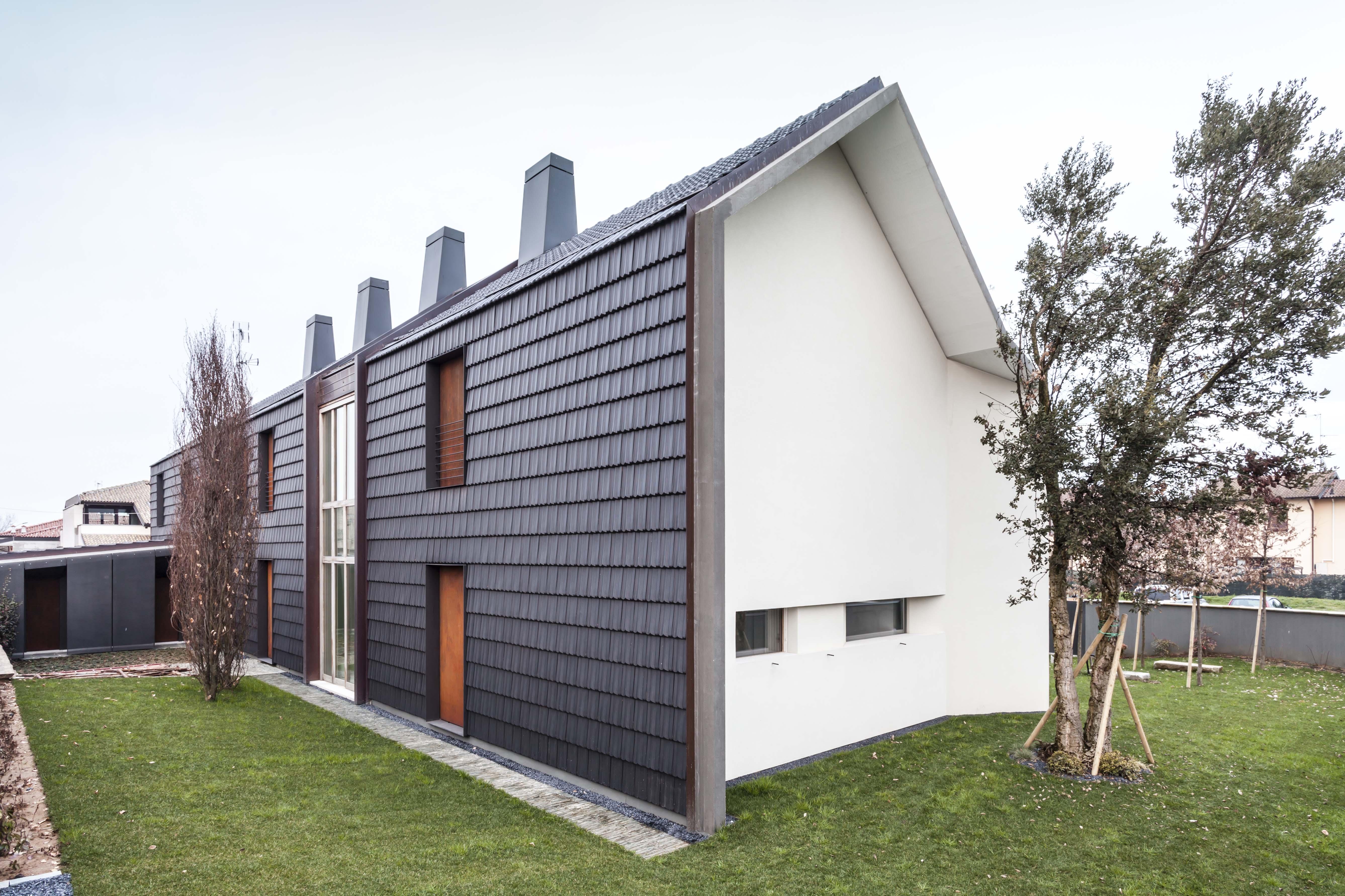 Per la villa di pianura spazi con grande ricchezza for Villette moderne unifamiliari