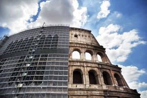 Restauro dell'Anfiteatro Flavio (Colosseo), Roma