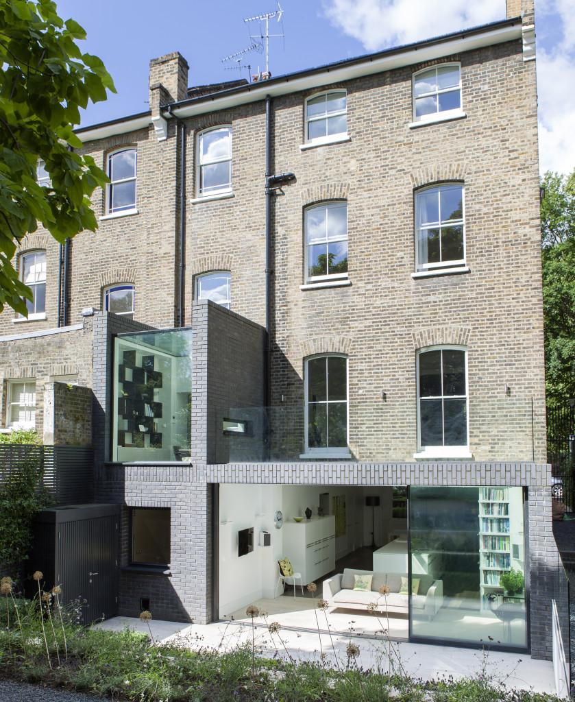 Lipton Plant Architects, Brick and a Half house. Londra, Gran Bretagna.