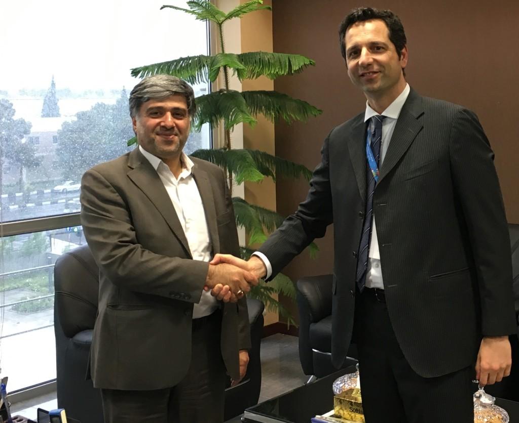 Hossein G. Bagherian, Deputy Ceo Planning and Monitoring, Iac e Massimo Vitali, Presidente del Gruppo Vitali.