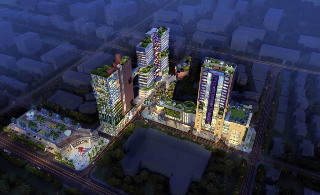 Situato in Foshan Qiandenghu Recreation Center, nella provincia di Guangdong in China, lo Zhiyue Youcheng Square è parte di un più ampio progetto di rinnovamento della parte storica della città. Il progetto prevede tre edifici distinti: il Passemble Hotel, con 22 piani e 200 stanze; il Food Forum Shitongitian Plaza, con 17 piani; il Reach 100, con 19 piani a uso commerciale e residenziale. Software utilizzati: ProjectWise come piattaforma collaborativa e di sincronizzazione, Aecosim Building Designer per la gestione delle interferenze.
