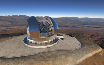 Ad Astaldi la realizzazione del più grande telescopio ottico al mondo