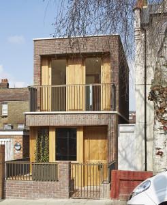 Haringey brick house.