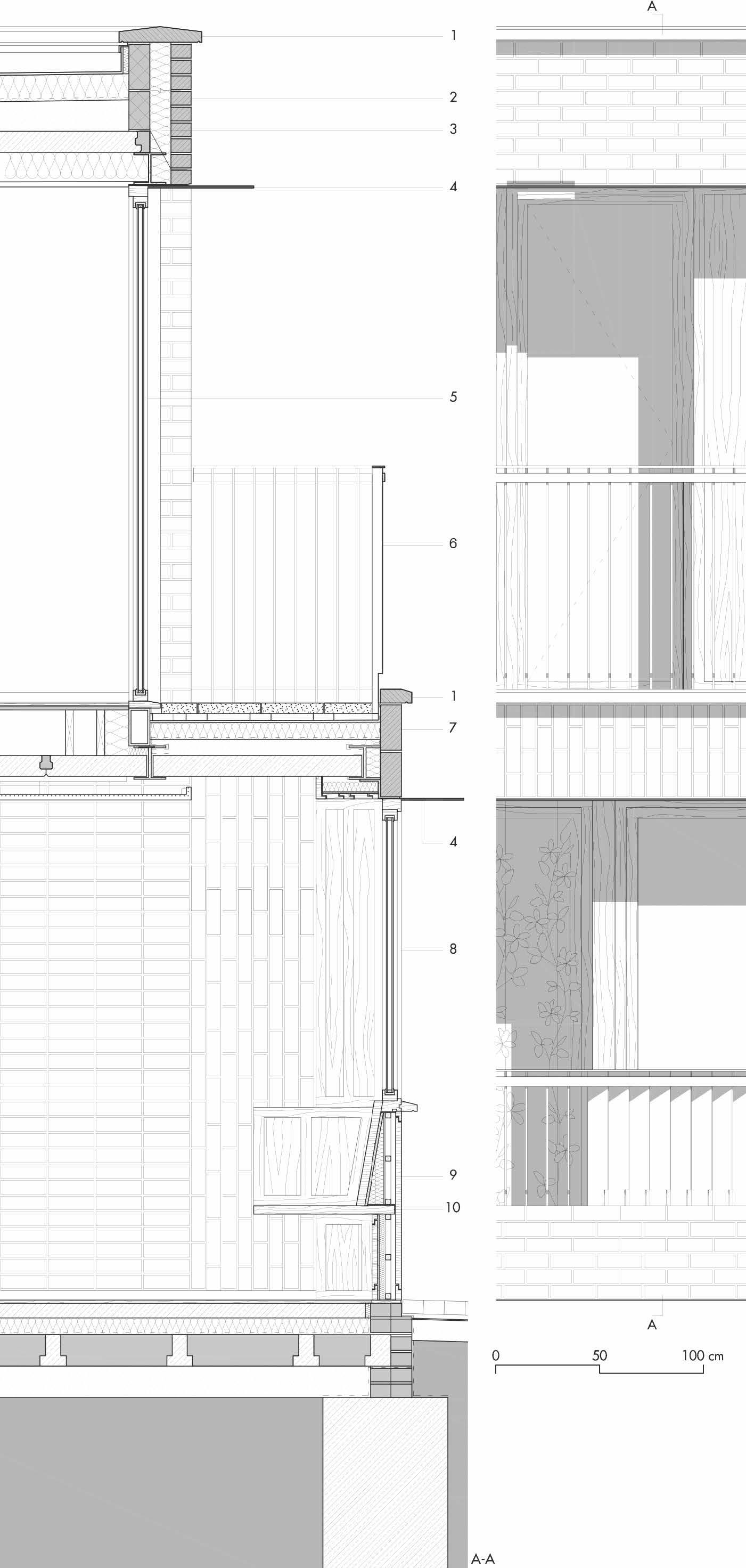 Accurata definizione per le tessiture della muratura in - Altezza parapetto finestra ...
