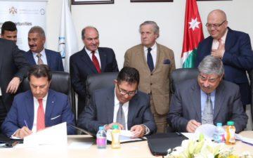 Mantovani in Giordania per la costruzione del Porto di Aqaba
