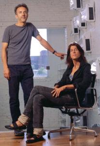 Sheila Kennedy e Frano Violich.