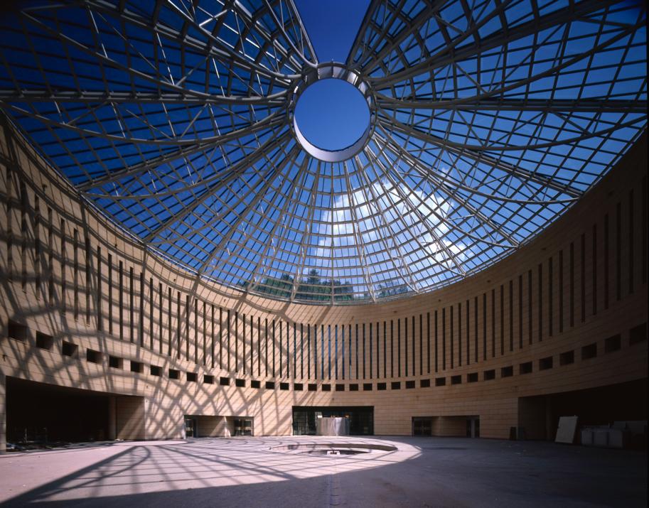 Il Museo Mart di Rovereto, realizzato da Contec Ingegneria insieme all'arch. Mario Botta.