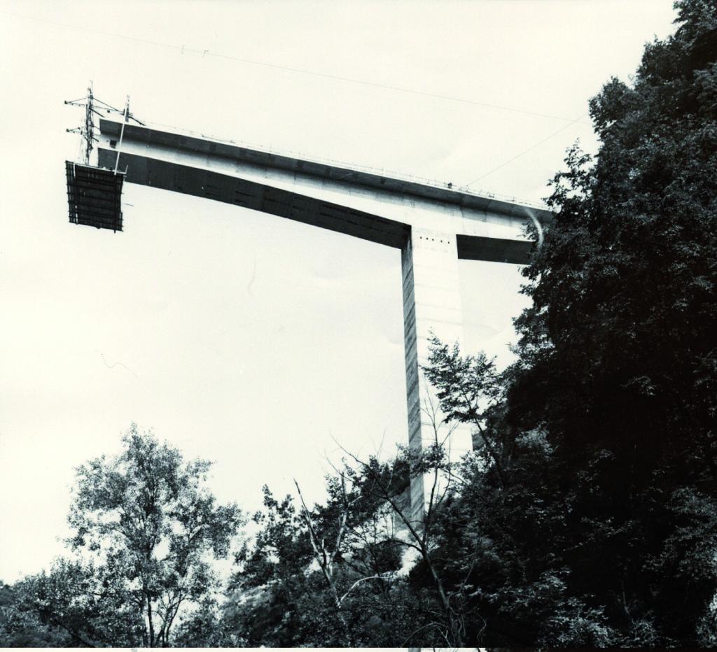 Il Ponte sull'Astico, una delle prime opere di ingegneria curate da Contec.