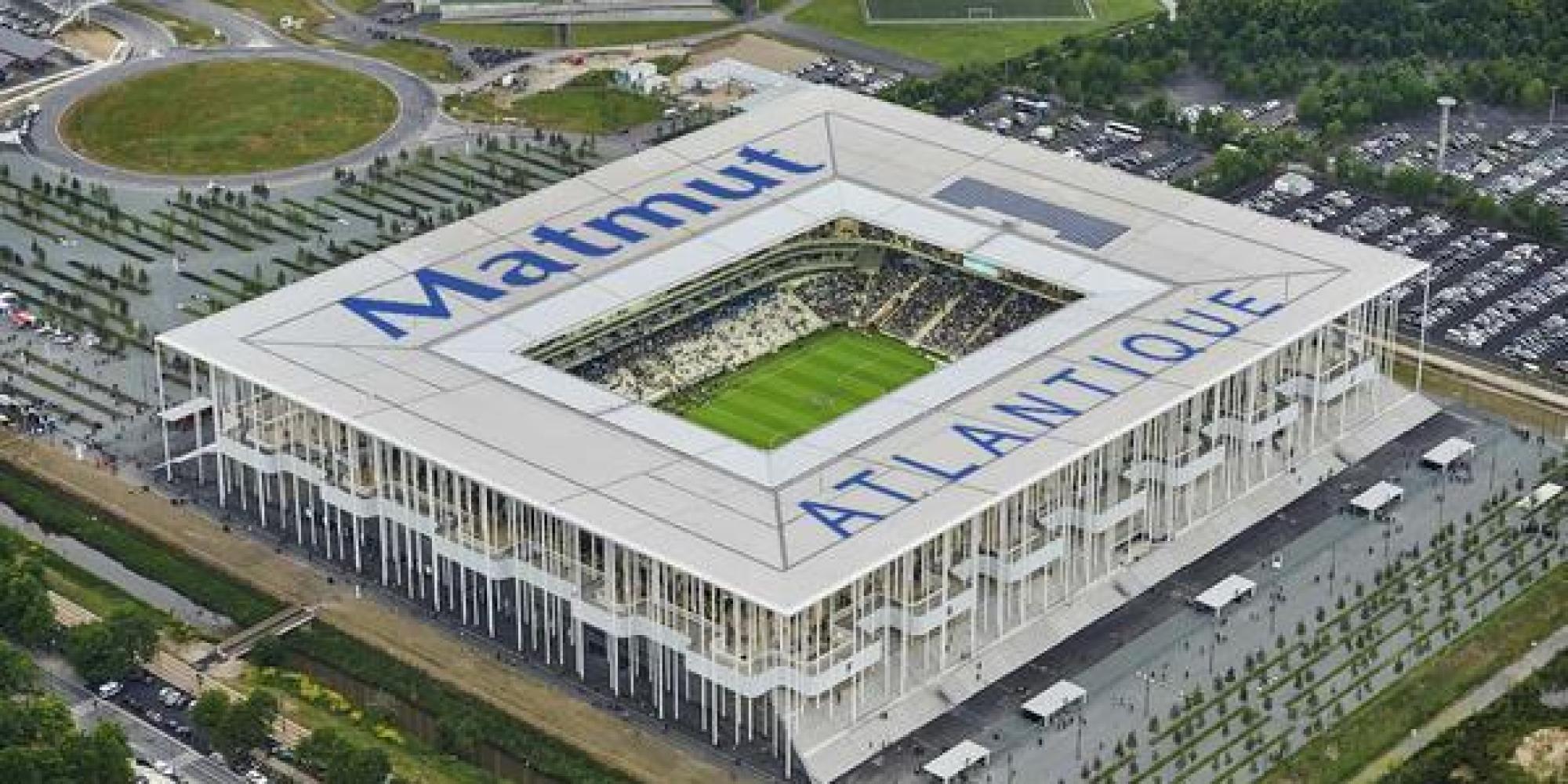 Lo stadio Matmut Atlantique a Bordeaux.