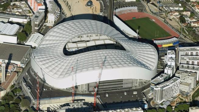 Lo Stade Vélodrome di Marsiglia.