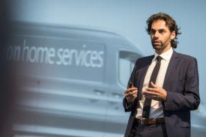 Thomas Miorin, fondatore di Rebuild e presidente di Re-Lab.